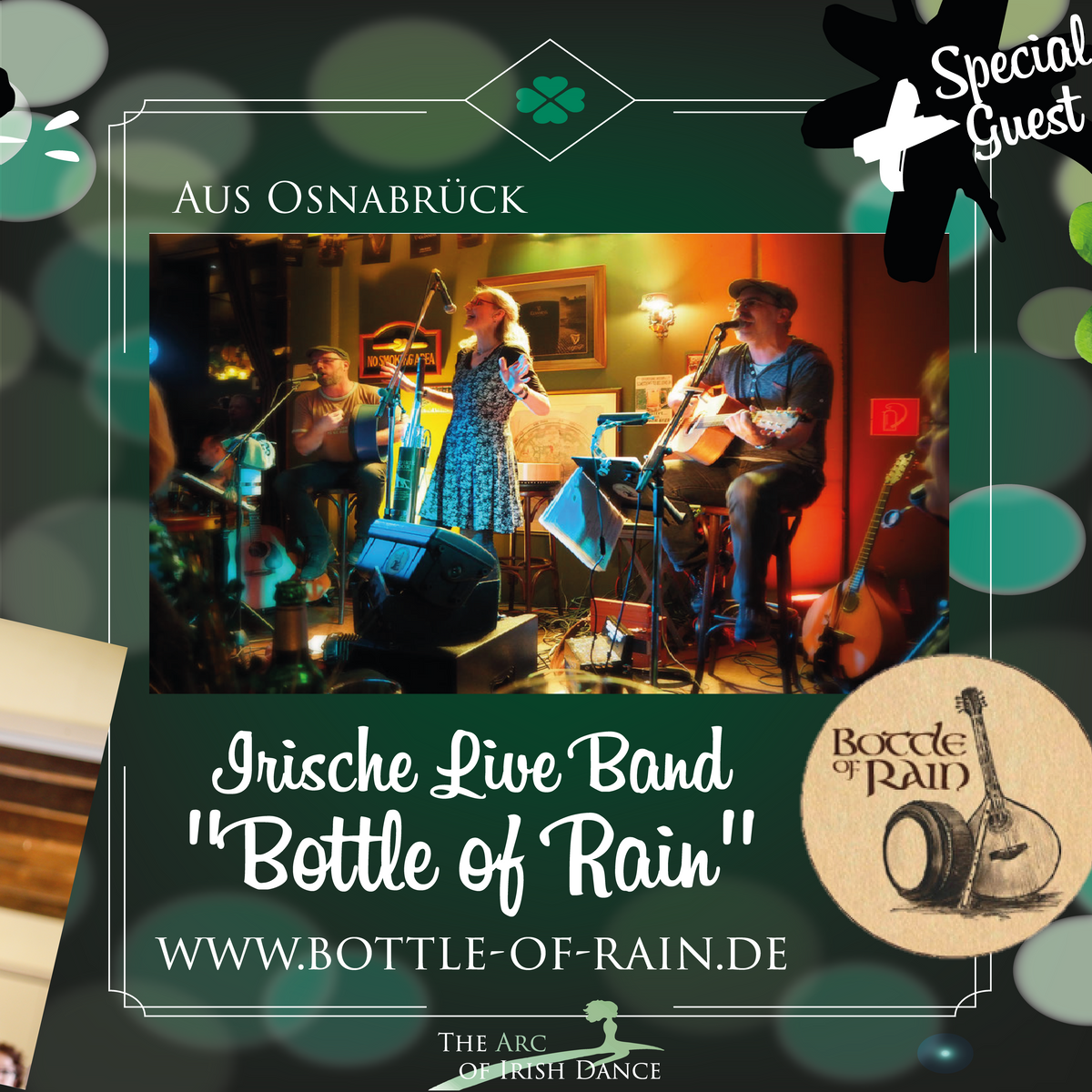 Live-Musik von Bottle of Rain