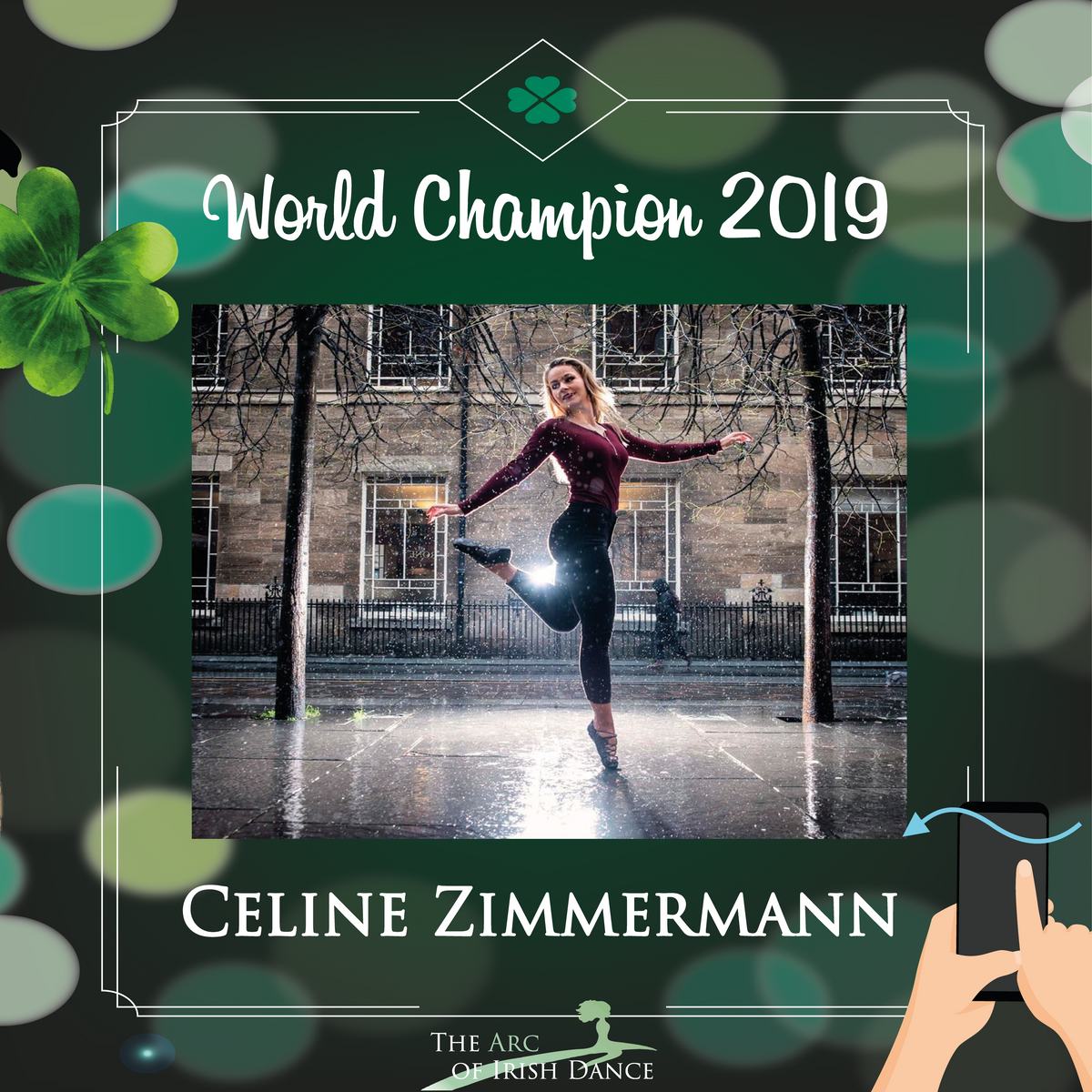 Gastauftritt Celine Zimmermann (World Champion 2019)